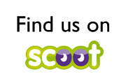 Find us on scoot