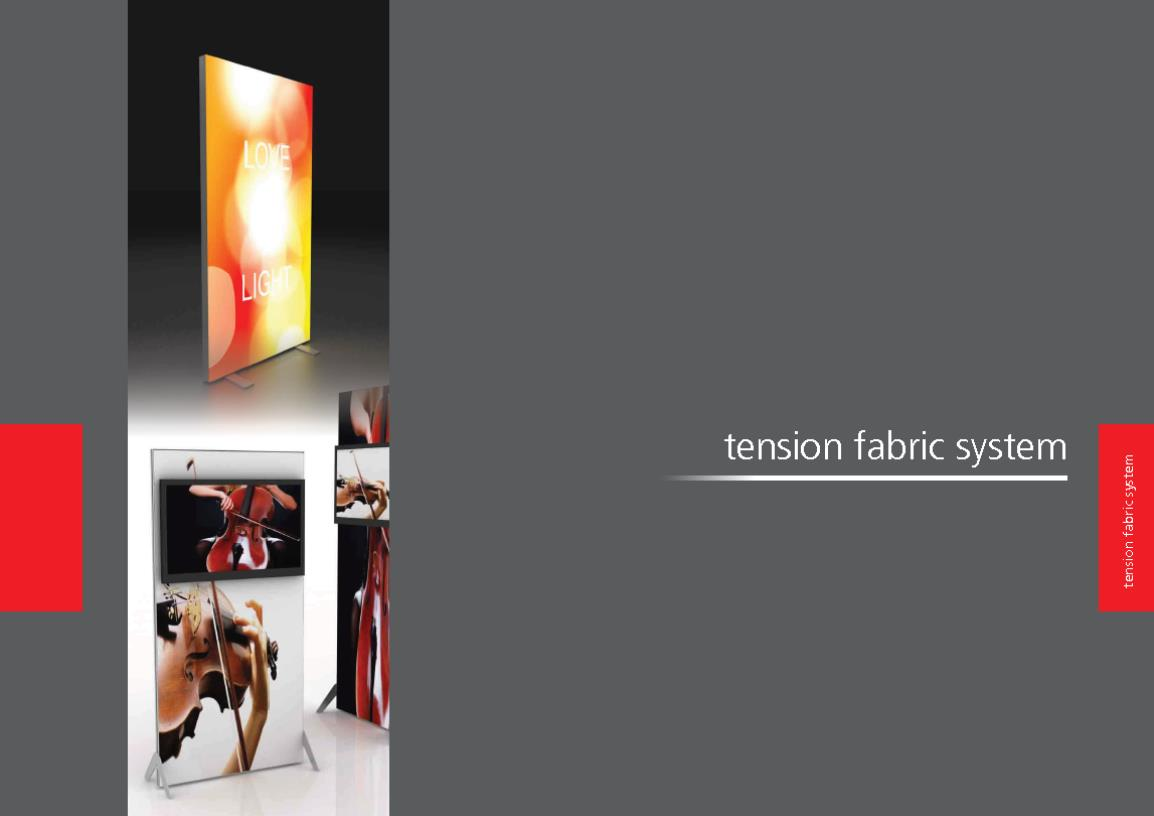 2013 Tension Fabric Display Brochure