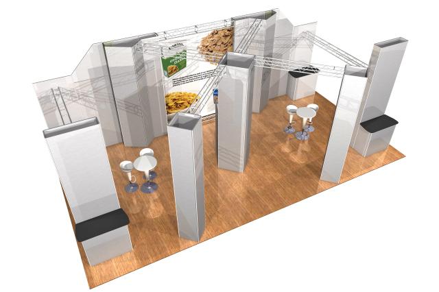 Modular Exhibition Stands Jojo : Modular exhibition stands kyoti graphics